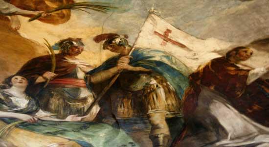Cúpula Regina Martyrum, Basílica del Pilar
